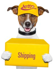Cheap animal food and fast shipping with Jeffo: dog biscuits, dog food, cat food, cat treats, treats, gifts for dogs and cats