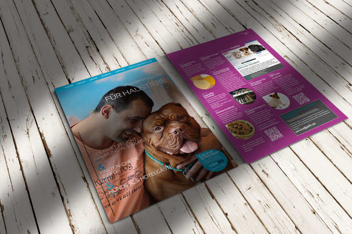 Jeffo customer magazine for pets